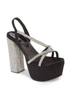 Jeffrey Campbell Upset Embellished Platform Sandal (Women)