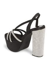 Jeffrey Campbell Women's Upset Embellished Platform Sandal