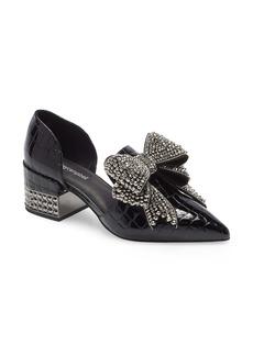 Jeffrey Campbell Valenti Embellished Bow Loafer (Women)