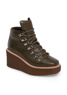 Jeffrey Campbell Viajar Waterproof Platform Wedge Bootie (Women)