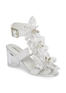 Jeffrey Campbell Violit Embellished Floral Sandal (Women)