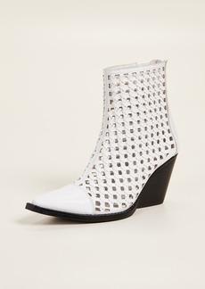 Jeffrey Campbell Waven Woven Boots