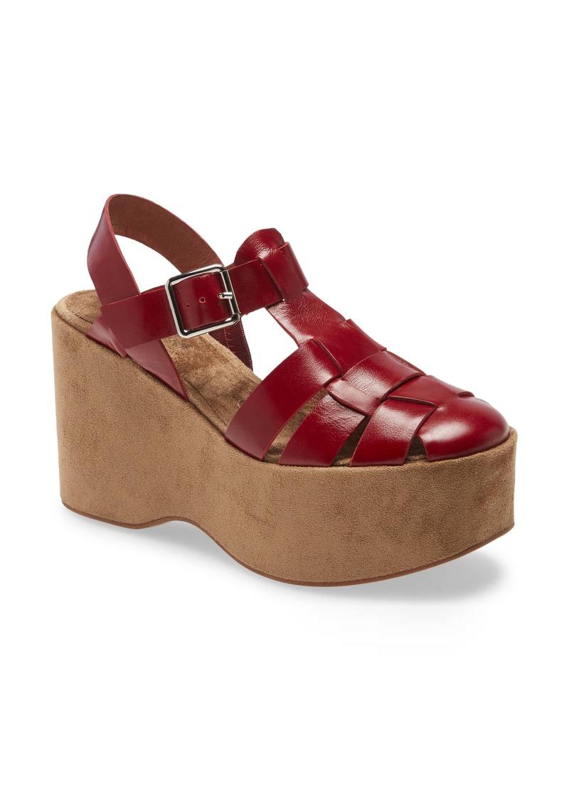 Jeffrey Campbell West End Platform Wedge Sandal (Women)