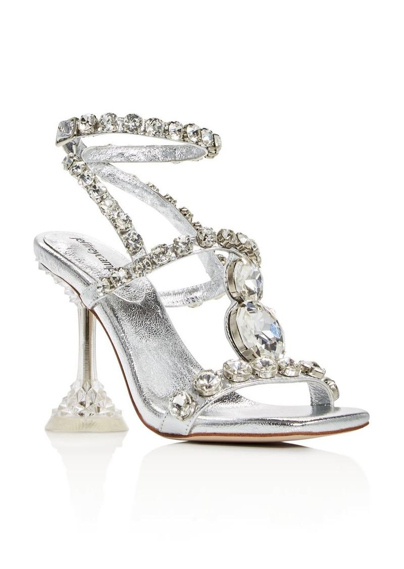 Jeffrey Campbell Women's Anasta-LHH Gem Embellished High-Heel Sandals