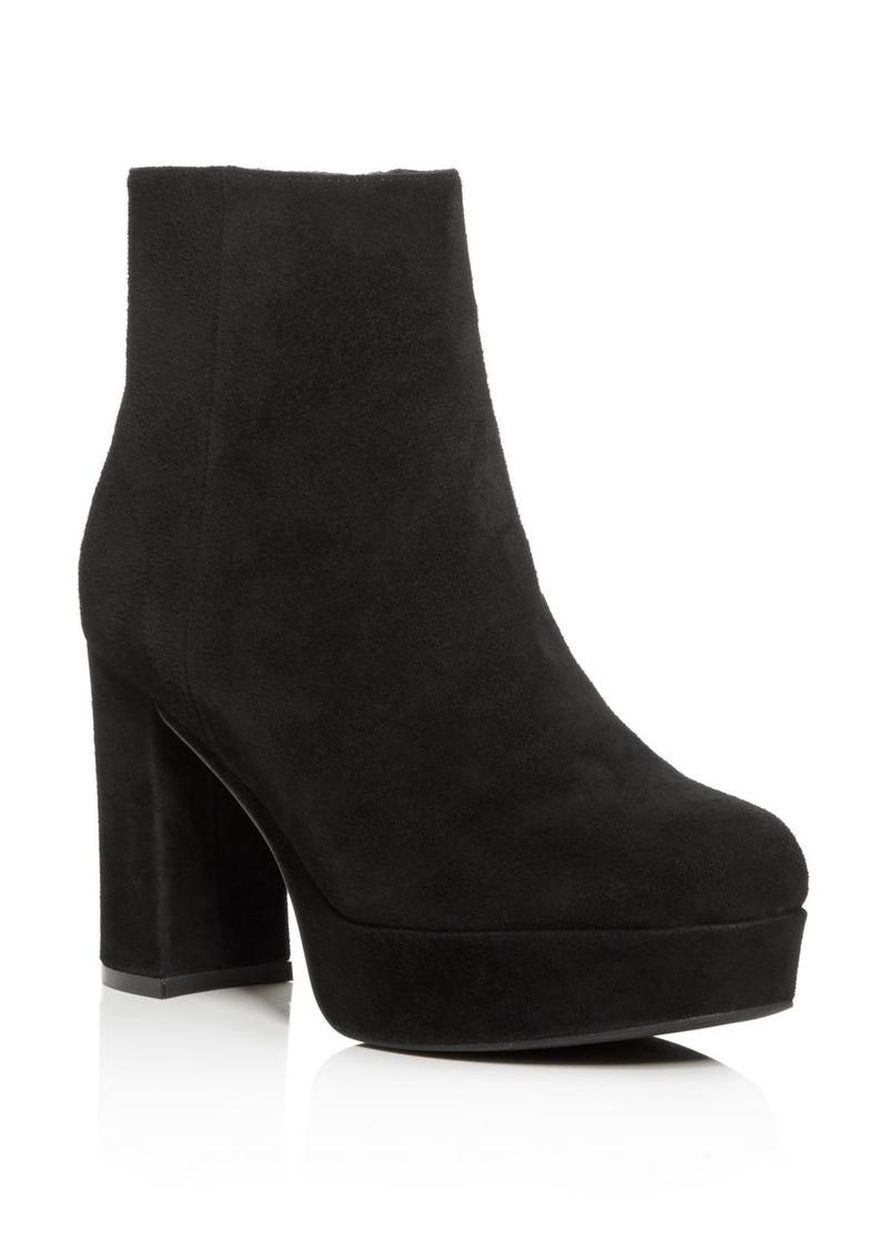 Jeffrey Campbell Women's Sahar Platform Block-Heel Booties