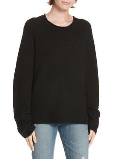 Jenni Kayne Bouclé Crewneck Sweater