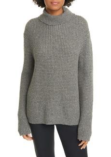 Jenni Kayne Cameau Seattle Wool & Camel Hair Blend Turtleneck Sweater