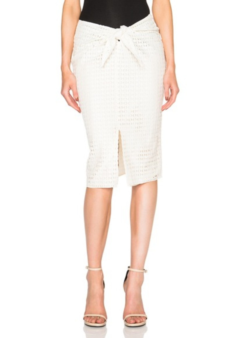 Jenni Kayne Diamond Lace Wrap Skirt
