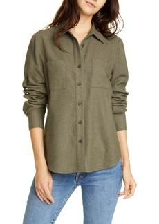 Jenni Kayne Double Pocket Cotton Button-Up Shirt