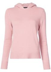 Jenni Kayne fitted hoodie - Pink & Purple
