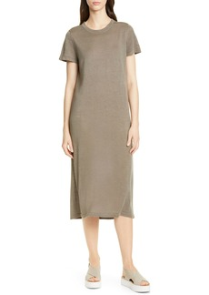 Jenni Kayne Linen T-Shirt Midi Dress