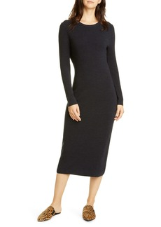 Jenni Kayne Long Sleeve Merino Wool Midi Dress
