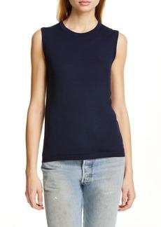 Jenni Kayne Merino Wool Sleeveless Sweater