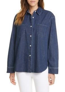 Jenni Kayne O'Keeffe Denim Button-Up Shirt
