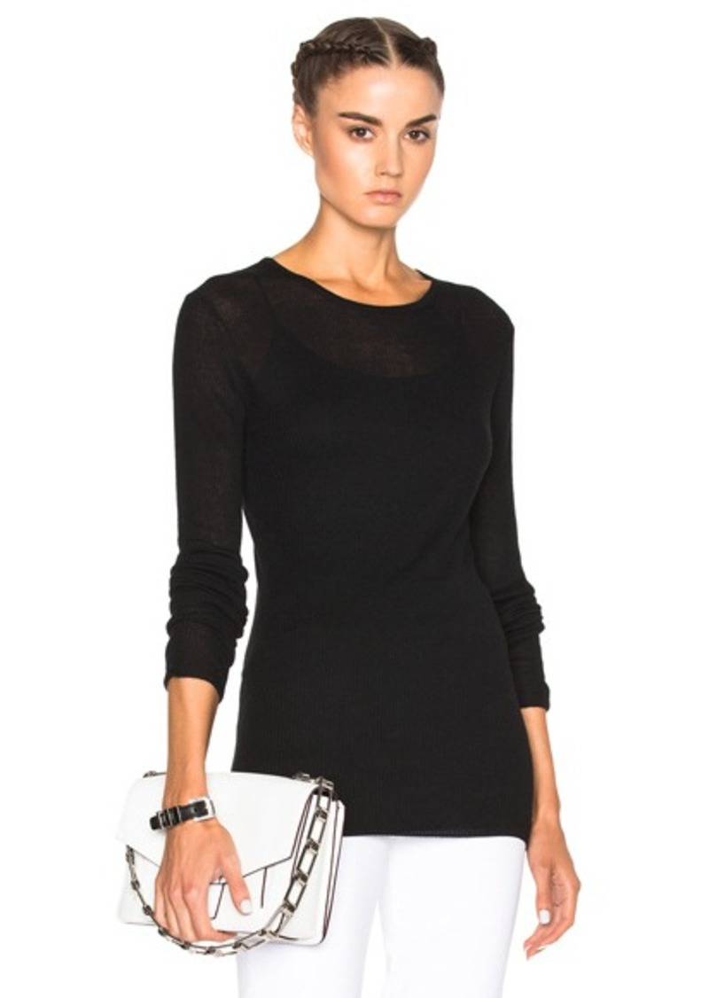 Jenni Kayne Ribbed Crew Sweater