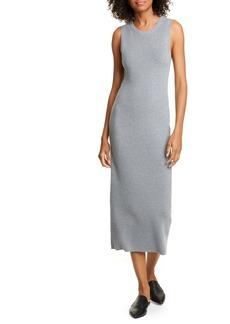 Jenni Kayne Sleeveless Cotton & Cashmere Blend Sweater Dress