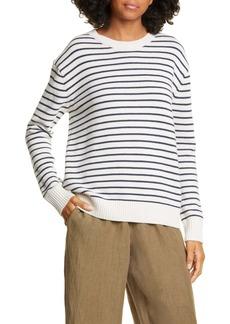 Jenni Kayne Stripe Crewneck Sweater