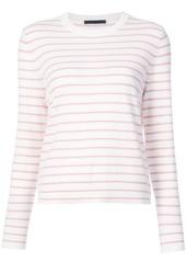 Jenni Kayne striped round neck jumper - Nude & Neutrals