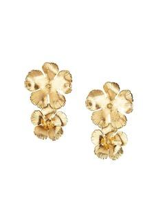 Jennifer Behr Collette floral drop earrings