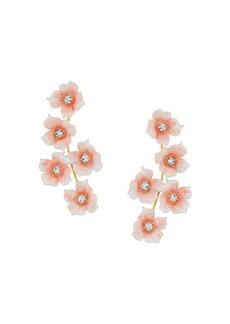 Jennifer Behr flower pendant earrings