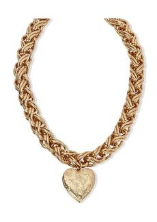 Jennifer Behr heart pendant necklace