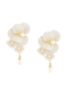 Jennifer Behr Sadira floral earrings