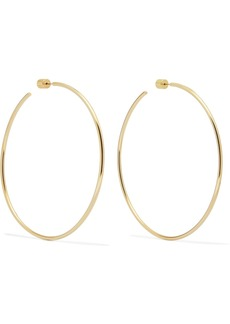 "Jennifer Fisher 3"" Thread Gold-plated Hoop Earrings"