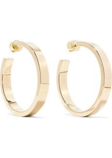 Jennifer Fisher Baby Kate Gold-plated Hoop Earrings