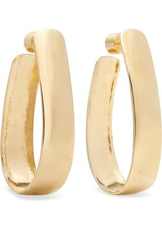 Jennifer Fisher Bolden Gold-plated Hoop Earrings