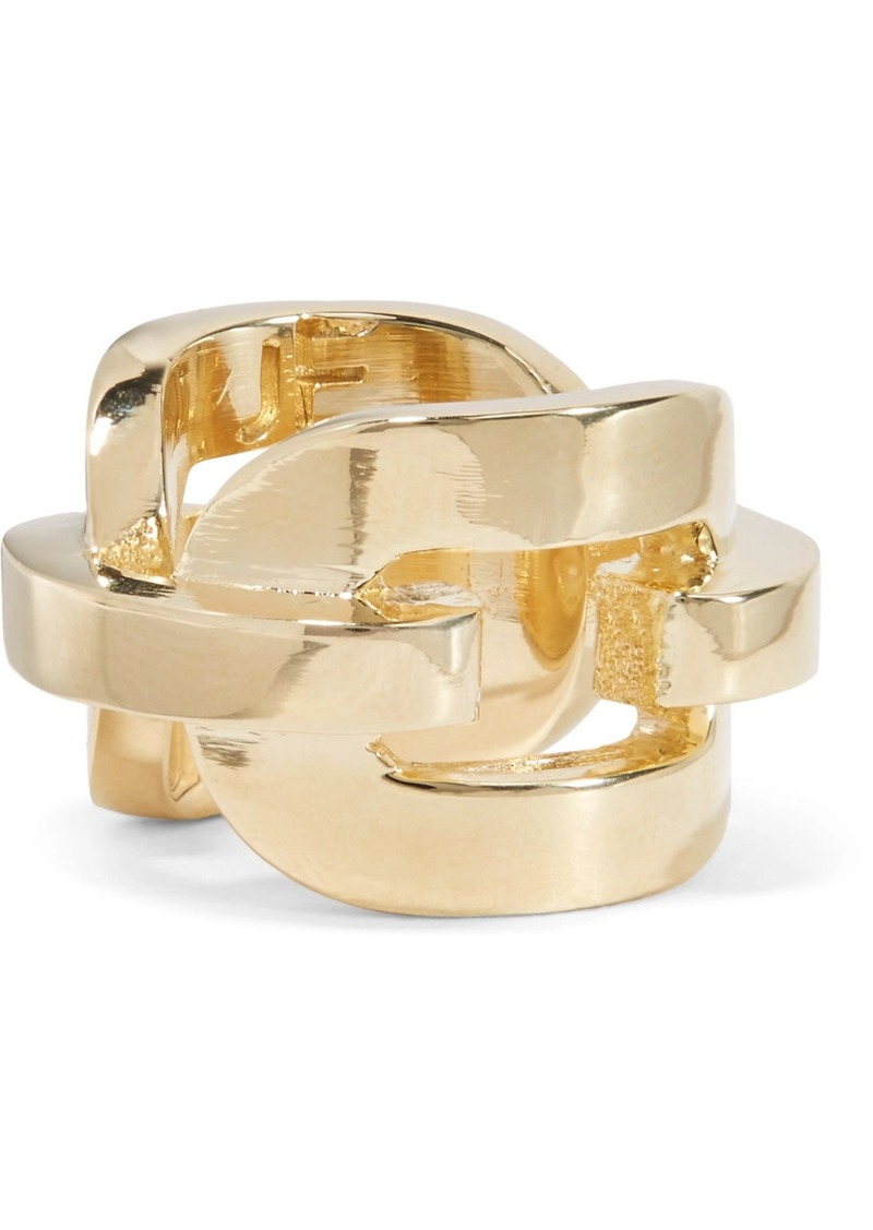 Chain Link Gold-plated Ring