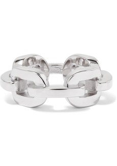 Jennifer Fisher Chain Link Silver And Rhodium-plated Ring