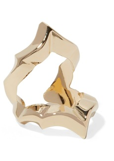Jennifer Fisher Crystal Gold-plated Ring