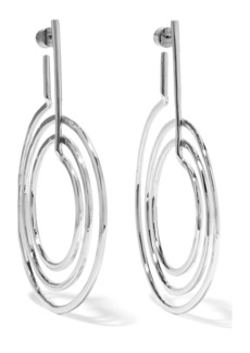 Jennifer Fisher + Off-White silver-plated earrings