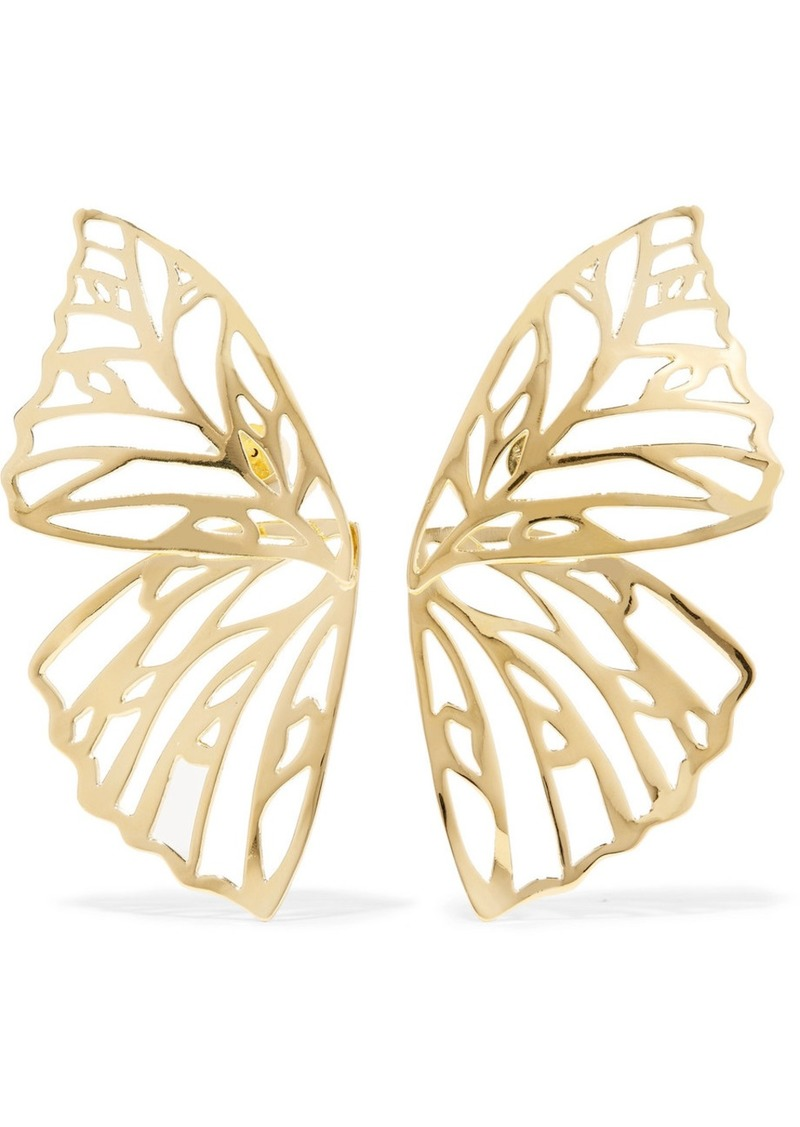 chloe silver jewelry earrings universe cate gold products white stud emmy goldplated plated