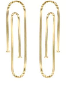 Jennifer Fisher Women's Long Pipe Earrings - Gold
