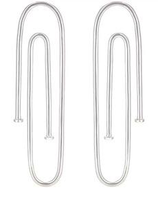 Jennifer Fisher Women's Long Pipe Earrings - Silver