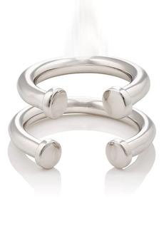 Jennifer Fisher Women's Pipe Ring Set
