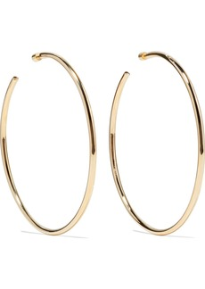 Jennifer Fisher Lilly gold-plated hoop earrings