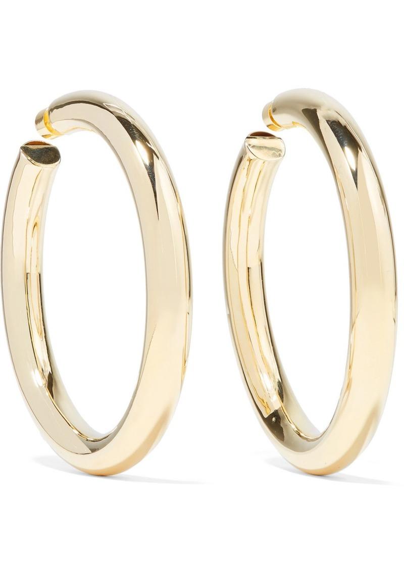 f6a1f22c2 Jennifer Fisher Mamma Jamma Gold-plated Hoop Earrings | Jewelry