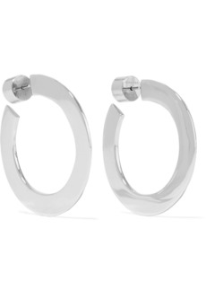 Jennifer Fisher Mini Drew Silver-plated Hoop Earrings