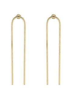 Jennifer Fisher Open Drop Earrings