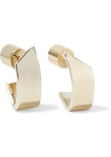 Jennifer Fisher Pod Huggie Gold-plated Hoop Earrings