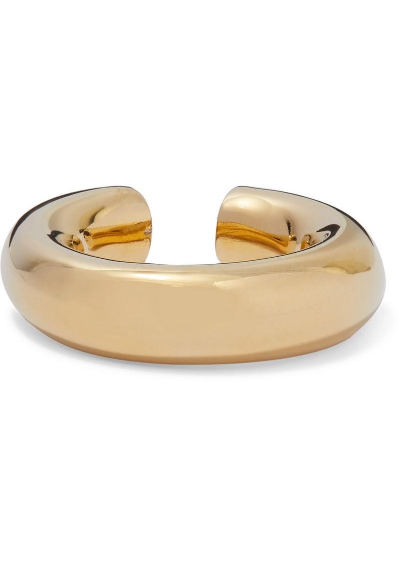 Jennifer Fisher Samira Gold-plated Ear Cuff