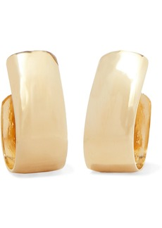 Jennifer Fisher Small Bolden Gold-plated Hoop Earrings