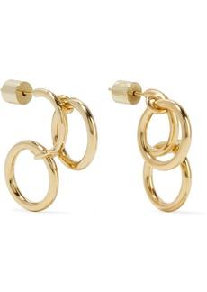 Jennifer Fisher Triple Hoops Gold-plated Earrings