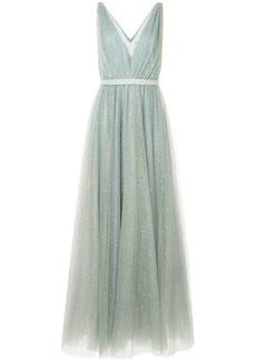 Jenny Packham embellished plunge gown