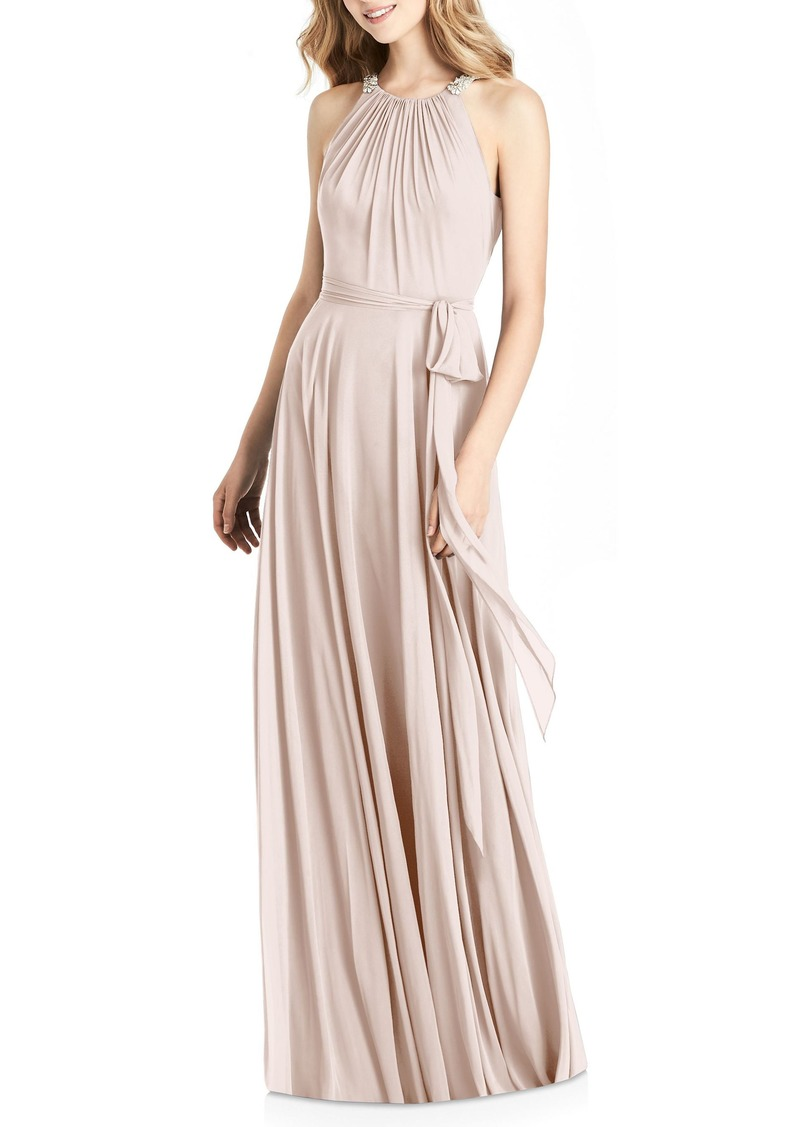 df9bac0f Jenny Packham Jenny Packham Beaded Strap Chiffon Gown | Dresses