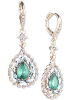 Jenny Packham Crystal & Stone Drop Earrings