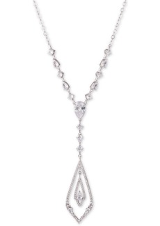"Jenny Packham Crystal & Stone Pendant Necklace, 20"" + 2"" extender"
