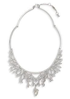 Jenny Packham Crystal Frontal Necklace